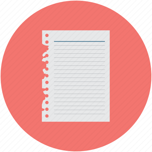 document, notepad, paper, sheet, steno pad, writing pad icon
