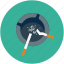 ashtray, cigarette, cigarettes, smoking icon