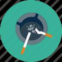 ashtray, cigarette, cigarettes, smoking