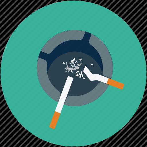 ashtray, cigarette, cigarettes, smoking icon
