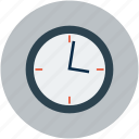 clock, timekeeper, timepiece, wall clock, watch icon