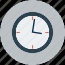 wall clock, timepiece, timekeeper, watch, clock icon