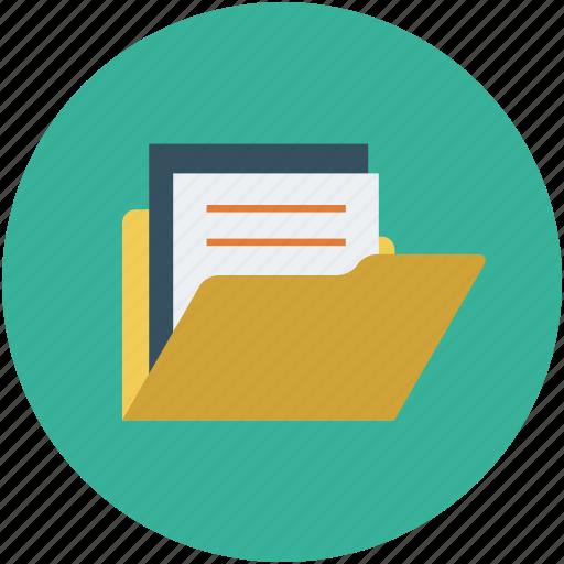 document, document folder, file folder, folder icon