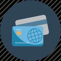 atm card, business card, card, credit card, debit card, plastic money icon