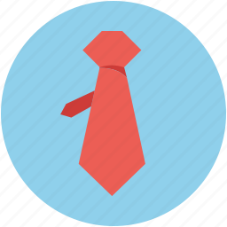 clothes, dress, formal tie, tie, uniform tie, windsor tie knot icon