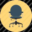 armchair, chair, move chair, office chair, swivel, swivel chair
