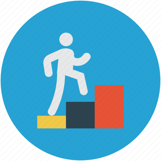 business growth, financial growth, growth, plan, success, target icon