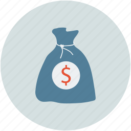 cash, dollar bag, dollar sign, earning, money, pay, payment, sack icon