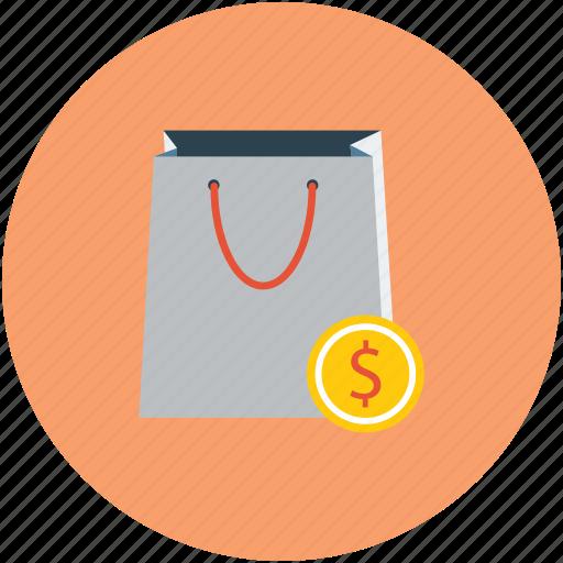 bag, disposable bag, ecommerce, online shopping, reusable bag, shopping icon