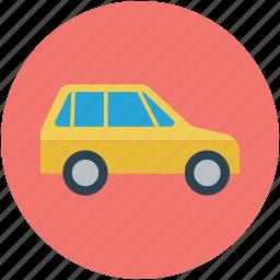 auto, car, family car, transport, transportation, travel, vehicle icon