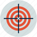 bullseye, business goal, dartboard, market target, purpose, shooting target, target, targeting icon