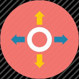 aim, ambition, bullseye, focus, shoot, target, targeting icon
