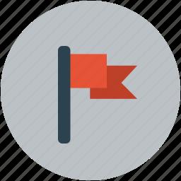 flag, mark, pennant flag icon