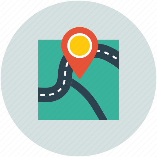 Gps, location, locator, map, navigation, pin icon - Download on Iconfinder