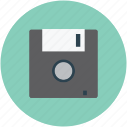 disk, disk drive, diskette, drive, floppy, floppy disk, storage icon