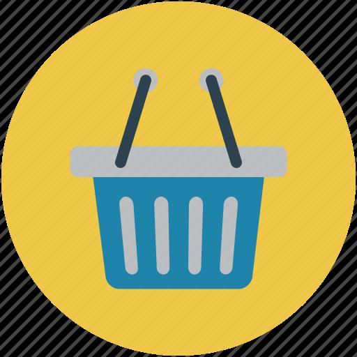 basket, ecommerce basket, shopping basket, store basket, vegetable basket icon