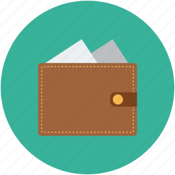 billfold, cash, money, purse, wallet icon