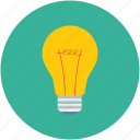 bulb, flash bulb, incandescent lamp, light bulb icon