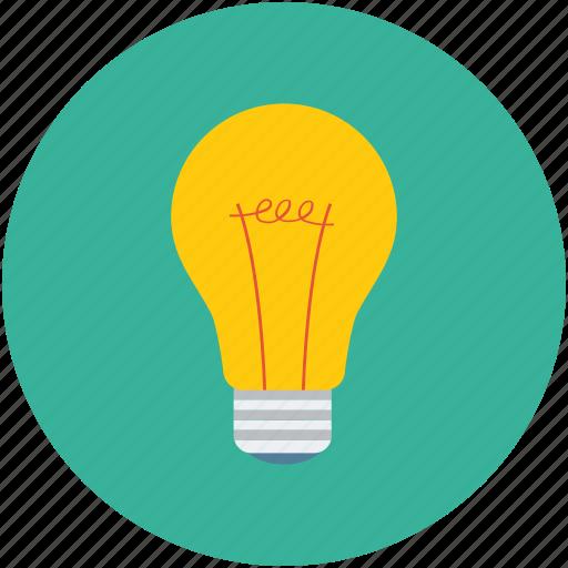 bulb, flash bulb, incandescent lamp, light bulb icon