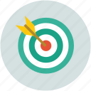 ambition, dart, dartboard, focus, shoot, target, targeting icon
