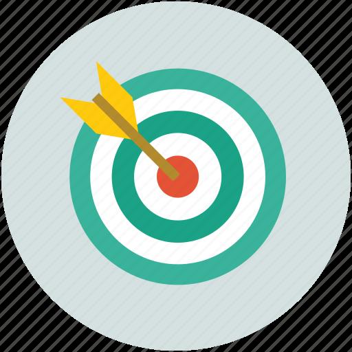 ambition, dart, dartboard, focus, shoot, target, targeting icon
