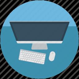 computer, desktop, hardware, monitor, pc, personal computer icon