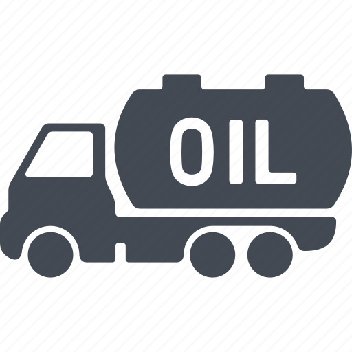 gasoline tanker, oil and gas, tank, transportation icon