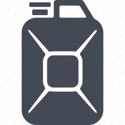 combustible, jerrycan, oil, oil and gas icon