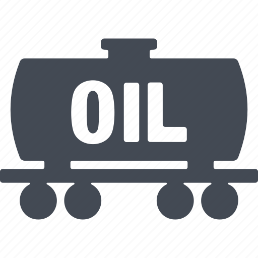 combustible, oil and gas, tank, transportation icon