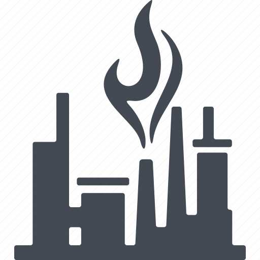 factory, industry, oil and gas, production, refinery icon