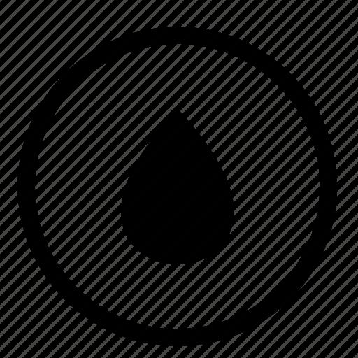 drop, label, oil, petrol, petrolium, round icon