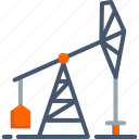 construction, drill, drilling, engineering, industrial, machine, rig icon