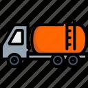 cargo, delivery, gasoline, oil, petroleum, transportation, truck