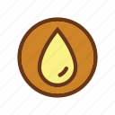 drop, energy, fire, gas, industry, oil, petrol icon