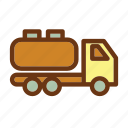 energy, fire, gas, industry, oil, petrol, tanker icon
