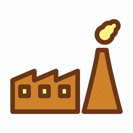 energy, factory, fire, gas, industry, oil, petrol icon