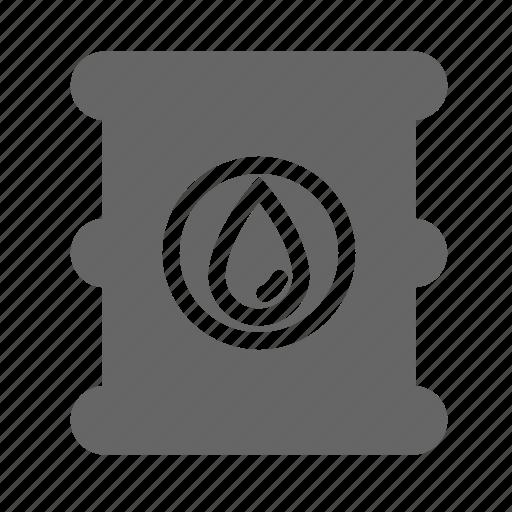 barrel, energy, fire, gas, industry, oil, petrol icon