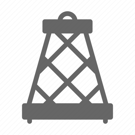 energy, fire, gas, industry, oil, petrol, rig icon