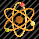 atomic, atom, power, energy icon