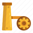 extraction, extractor, production, refinery icon