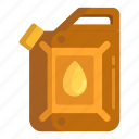 engine oil, fuel, jerrycan, oil, petrol, petroleum icon