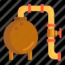 lng, lng storage, oil, pipeline, storage, tank, tanker icon