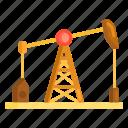 oil, oil pump, oil pump production, production, pump icon