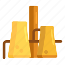 distillery, oil, oil refinery, power plant, refinery icon