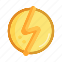 electric, electrical, energy, flash, industry, lightning bolt, power icon