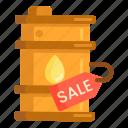 barrel, oil barrel, oil drum, oil price, oil sale icon