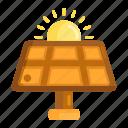 solar power, power, solar energy, solar, solar panel icon
