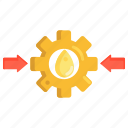 oil, pressure, transmission icon