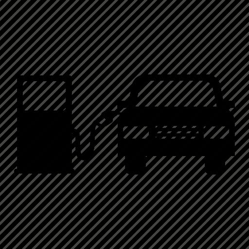 car, fuel station, fuel station pump, gas station, gasoline, petrol icon