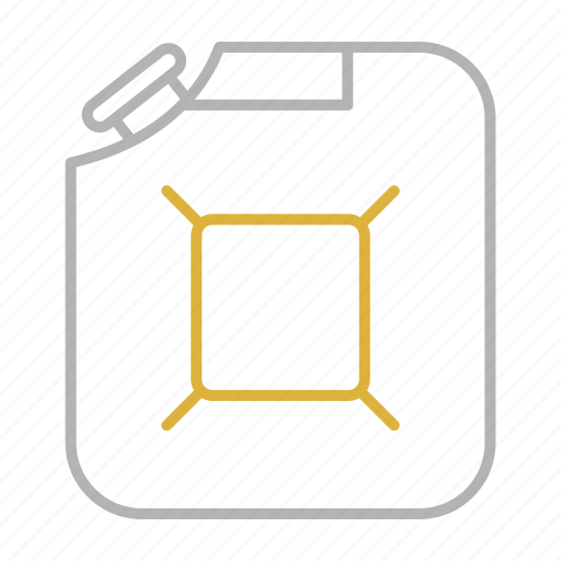 fuel, gas, jerrycan, oil, tank icon